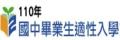 110國中畢業生適性入學宣導網頁